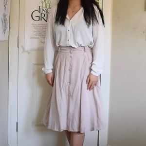 RW & Co midi skirt